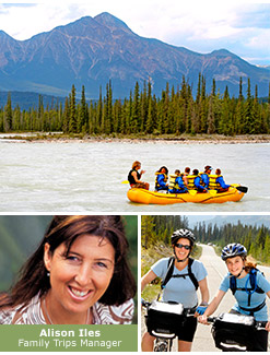 Family National Park vacations montage